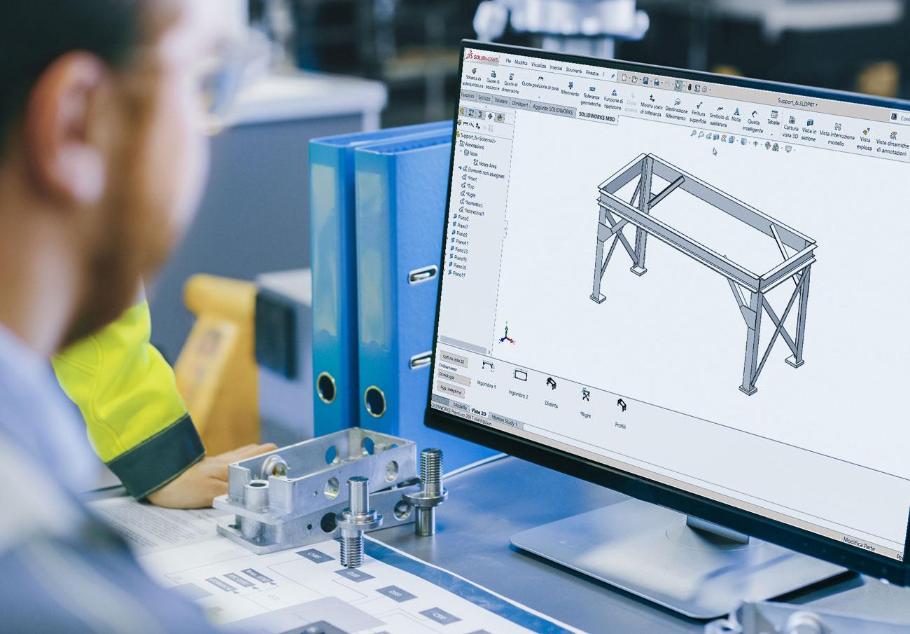 corso solidworks imola progettazione carpenterie 3D - officine formazione